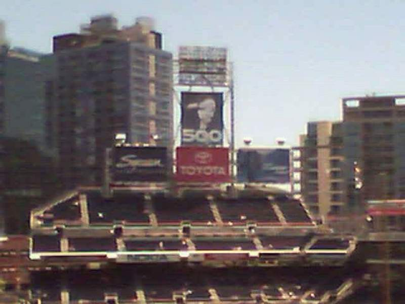 Seating view for PETCO Park Section 308