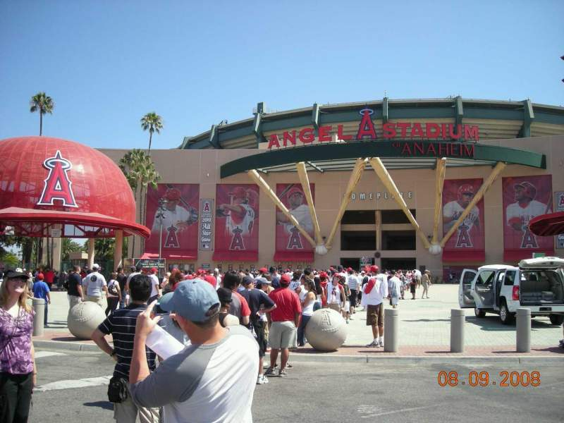 Seating view for Angel Stadium Section Home Plate Gate