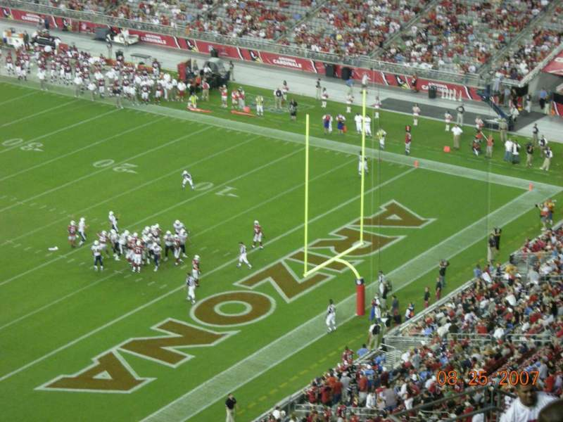 Seating view for State Farm Stadium Section 227