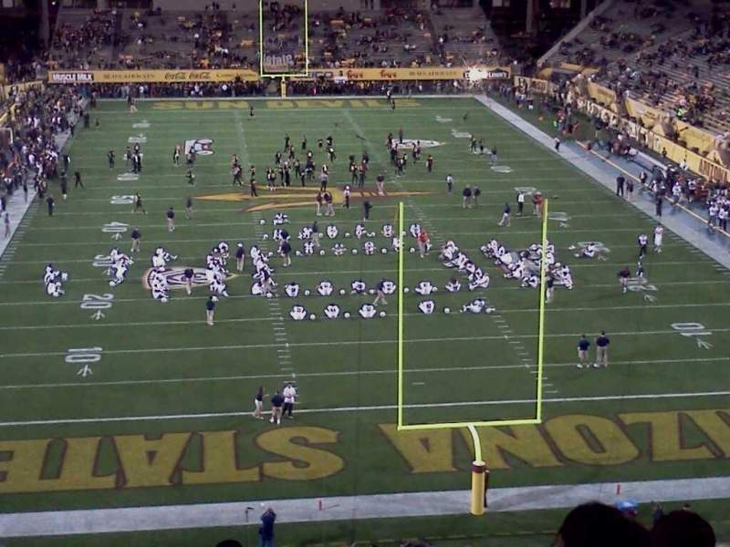 Seating view for Sun Devil Stadium Section 225 Row 9 Seat 11