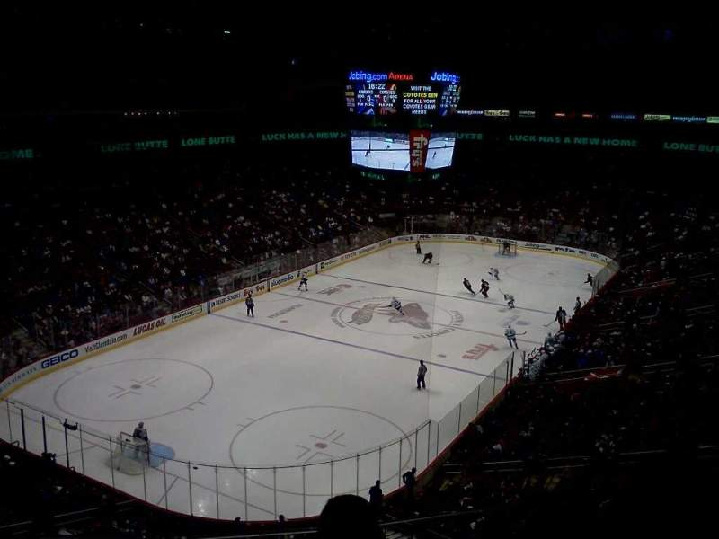 Seating view for Gila River Arena Section 205 Row C Seat 9