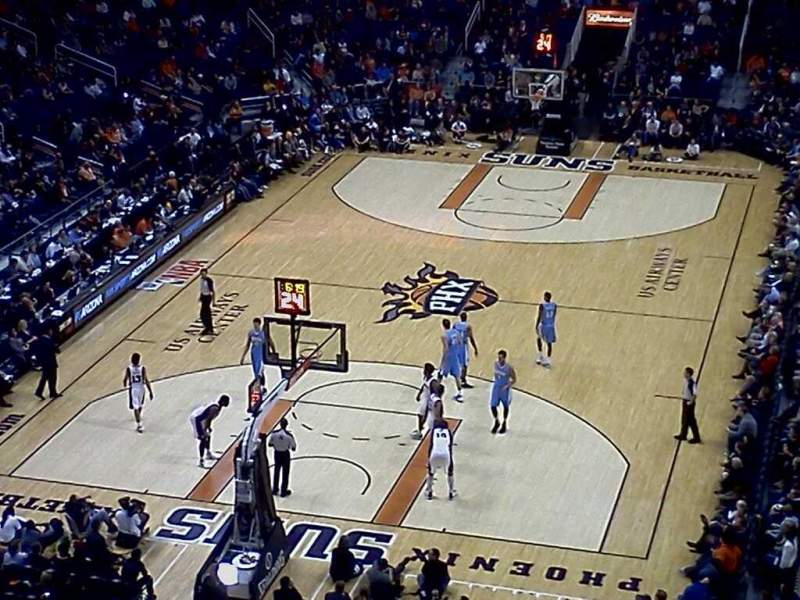 Seating view for Talking Stick Resort Arena Section 226 Row 1 Seat 10