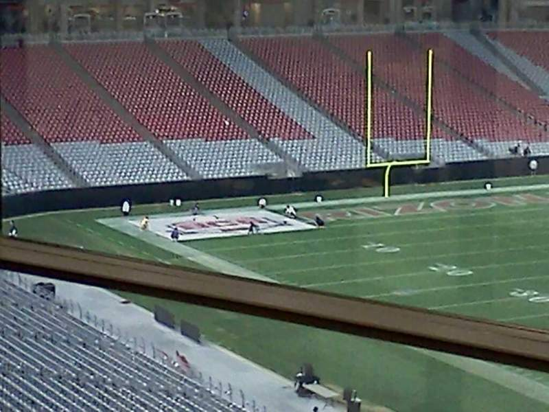 Seating view for University of Phoenix Stadium