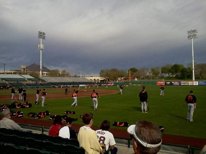 Seating view for Scottsdale Stadium