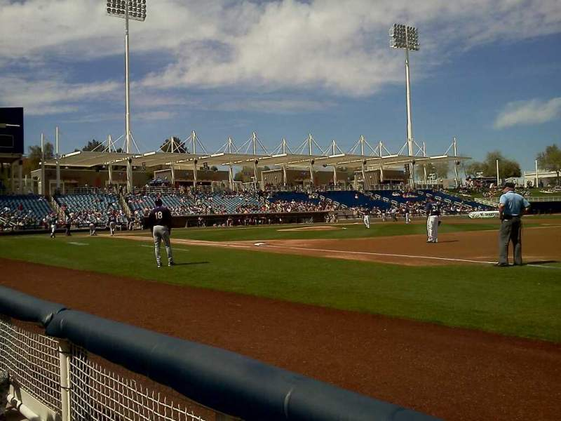 Seating view for Maryvale Baseball Park Section 113 Row A Seat 3