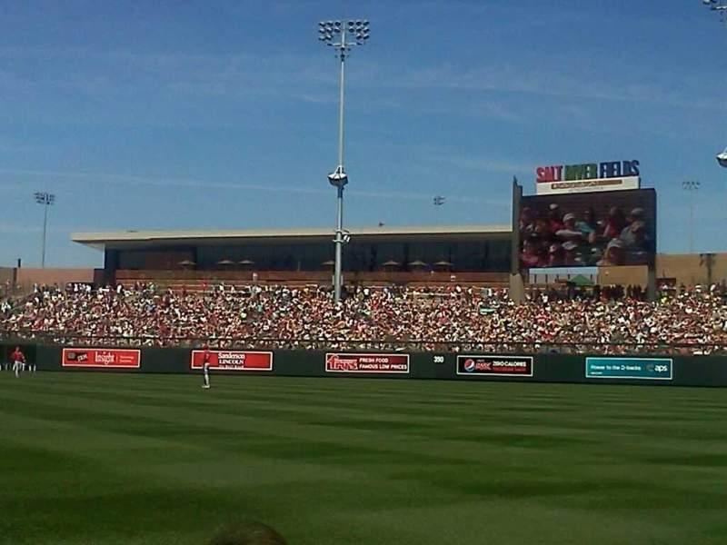 Salt River Fields, section: 101, row: 3, seat: 6