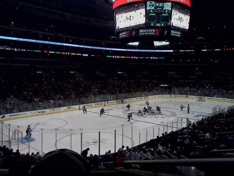 Seating view for Staples Center Section PR9 Row 4 Seat 12