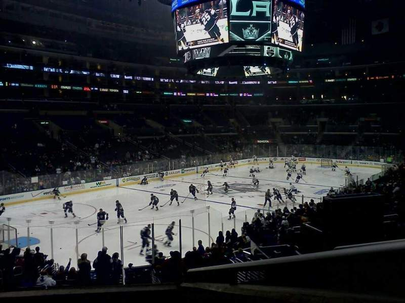 Staples Center Section Pr9 Home Of Los Angeles Kings