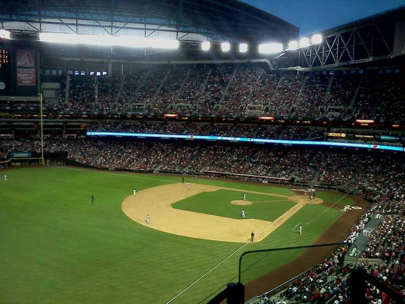 Seating view for Chase Field Section 139
