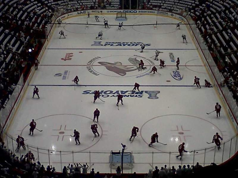 Seating view for Gila River Arena Section 223 Row Q Seat 8