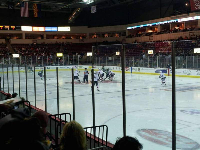 Seating view for Prescott Valley Event Center Section 213 Row 5 Seat 1