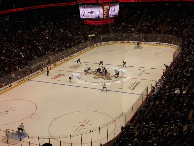 Seating view for Gila River Arena Section 205 Row E Seat 15