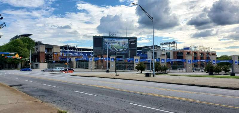 Seating view for Georgia State Stadium