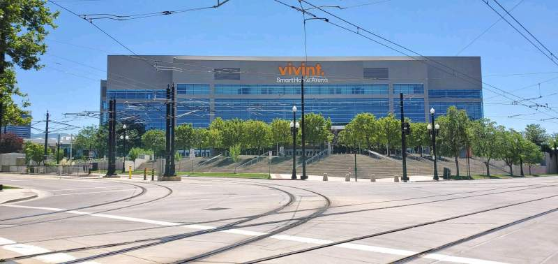 Seating view for Vivint Smart Home Arena