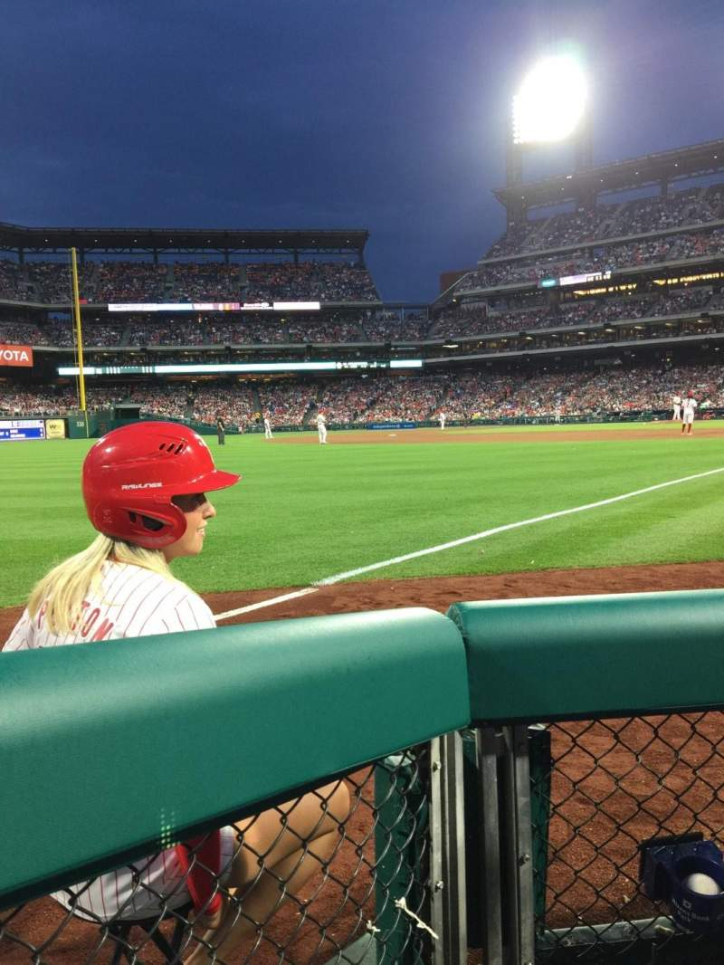 Citizens Bank Park, section: 138, row: 2, seat: 5