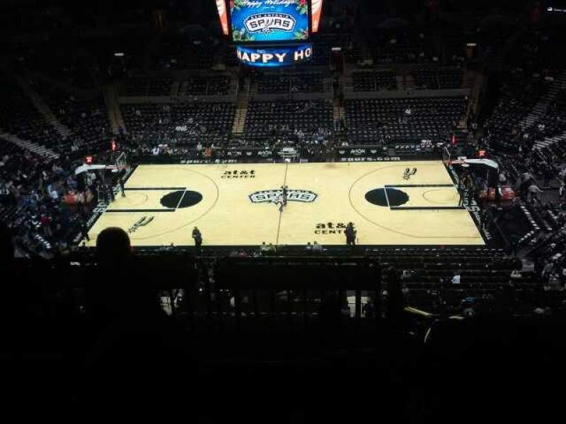 Seating view for AT&T Center Section 224