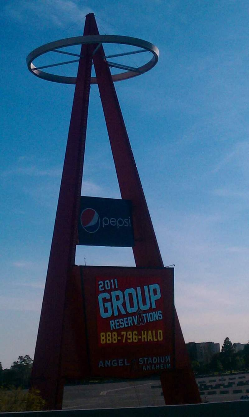 Seating view for Angel Stadium Section Big A