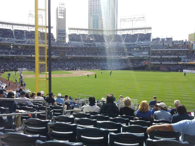 Seating view for PETCO Park Section 125 Row 35 Seat 5