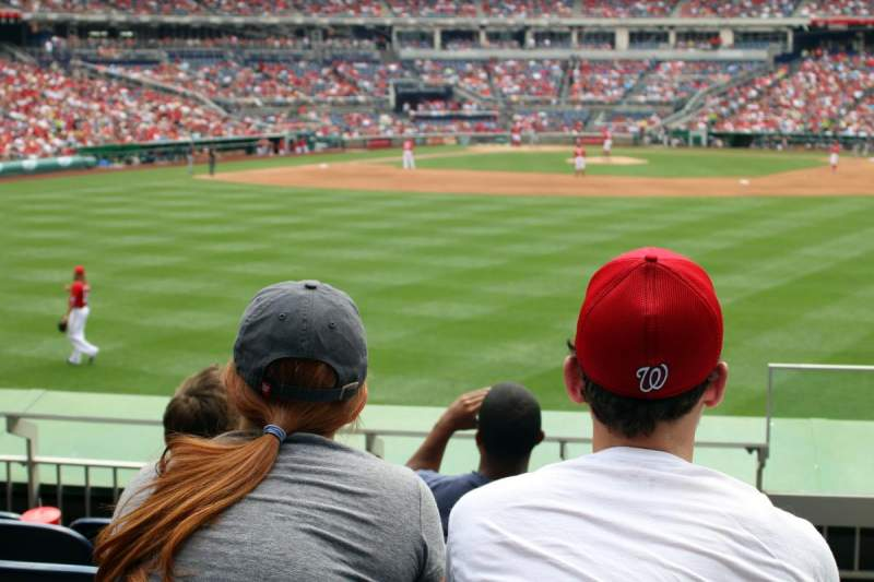 Seating view for Nationals Park Section 141 Row F Seat 1