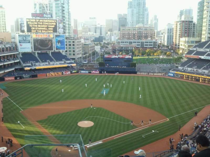 Seating view for PETCO Park Section 303 Row 13 Seat 1