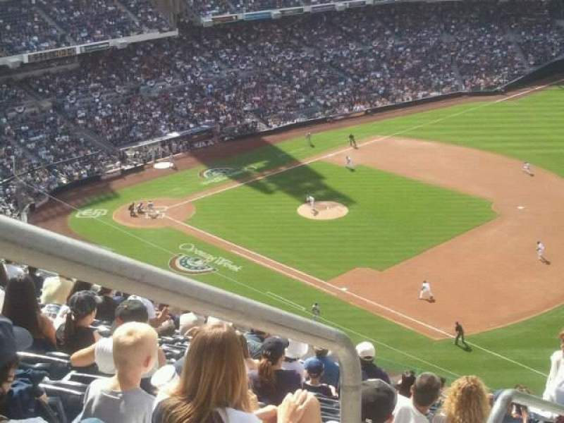 Seating view for PETCO Park Section 319 Row 23 Seat 1