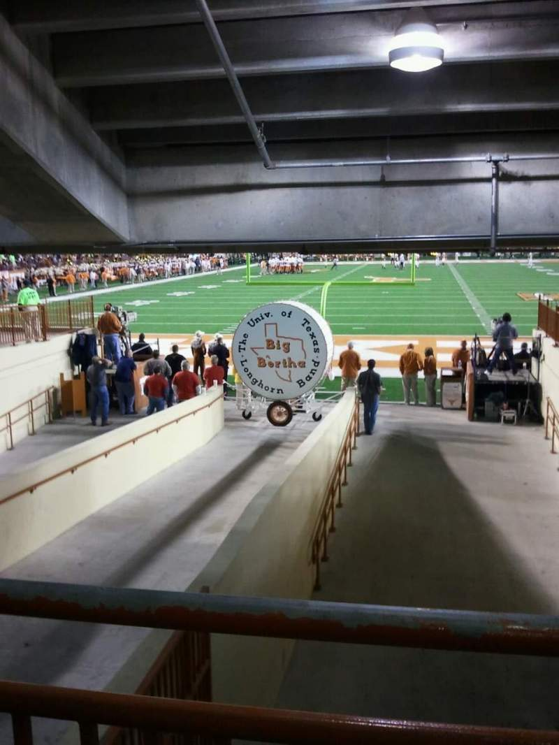 Seating view for Texas Memorial Stadium