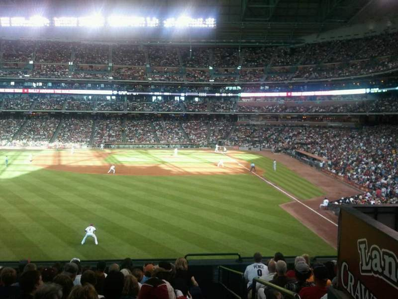 Seating view for Minute Maid Park Section 102