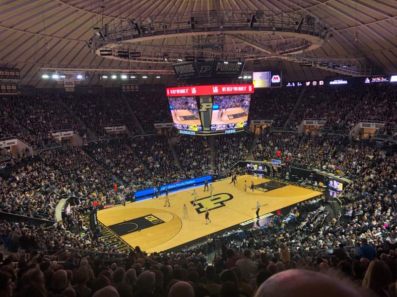 Seating view for Mackey Arena Section 112 Row 21 Seat 15