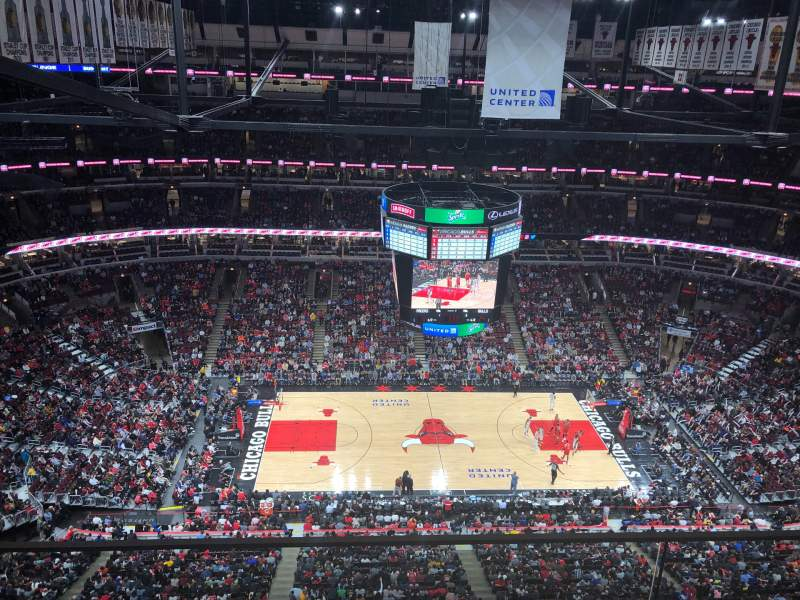 Seating view for United Center Section P02 Row GA Seat GA