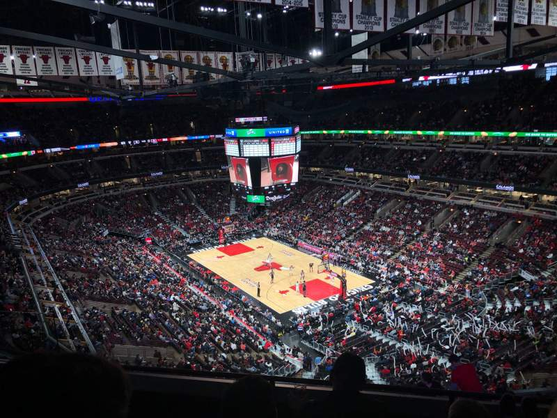 Seating view for United Center Section 312 Row 11 Seat 14