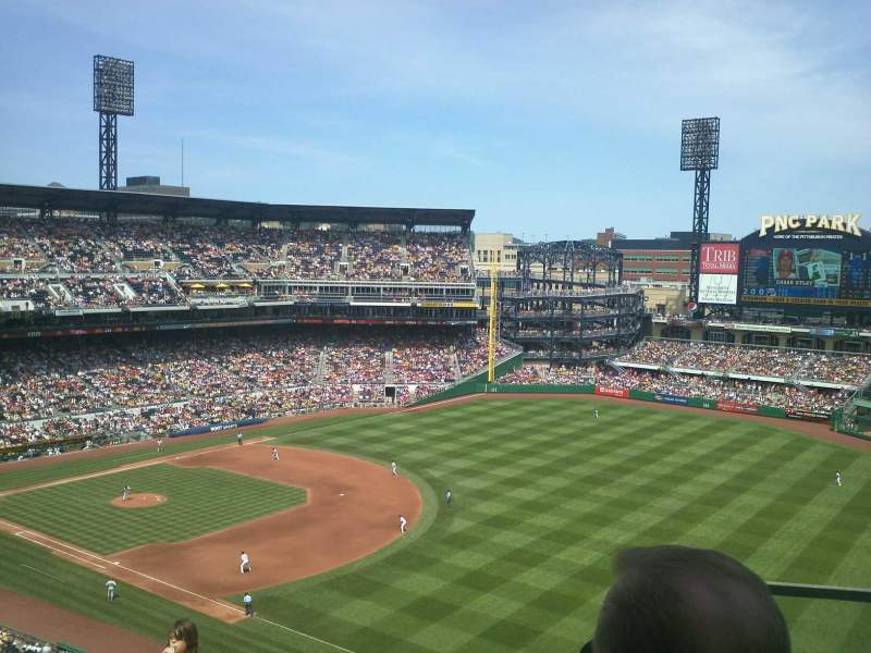 Seating view for PNC Park Section 303 Row L Seat 2