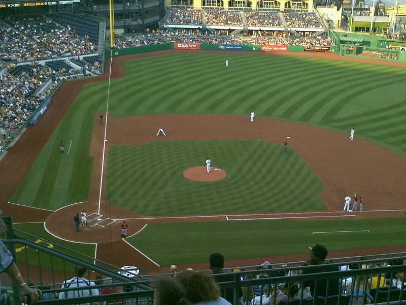 Seating view for PNC Park Section 311 Row M Seat 24