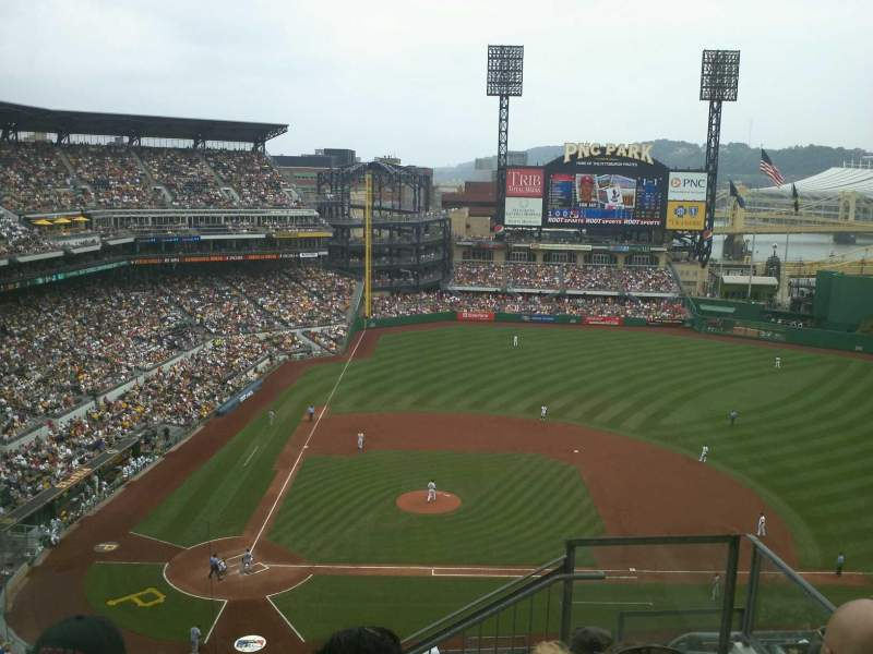 Seating view for PNC Park Section 311 Row M Seat 2