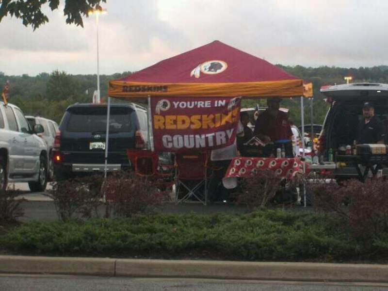 Seating view for FedEx Field Section Outside