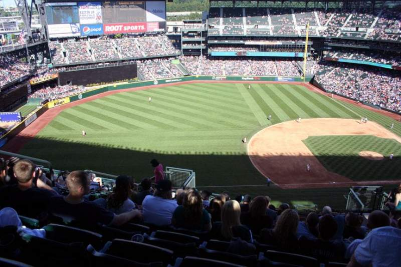 Seating view for Safeco Field Section 341 Row 19 Seat 9