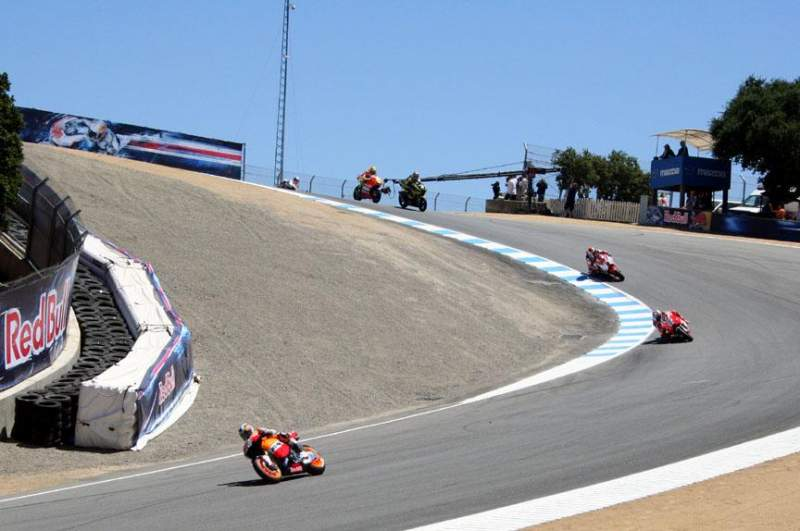 Seating view for Mazda Raceway Laguna Seca Section Turn 8