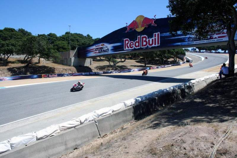 Seating view for Mazda Raceway Laguna Seca Section Turn 8a