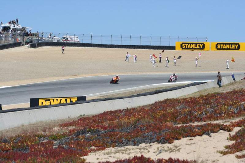 Seating view for Mazda Raceway Laguna Seca Section Turn 9