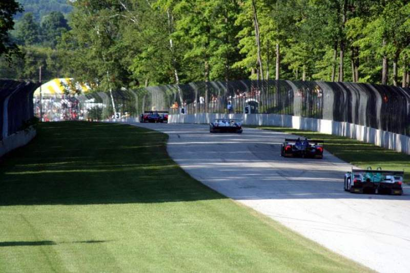 Seating view for Road America Section Turn 4