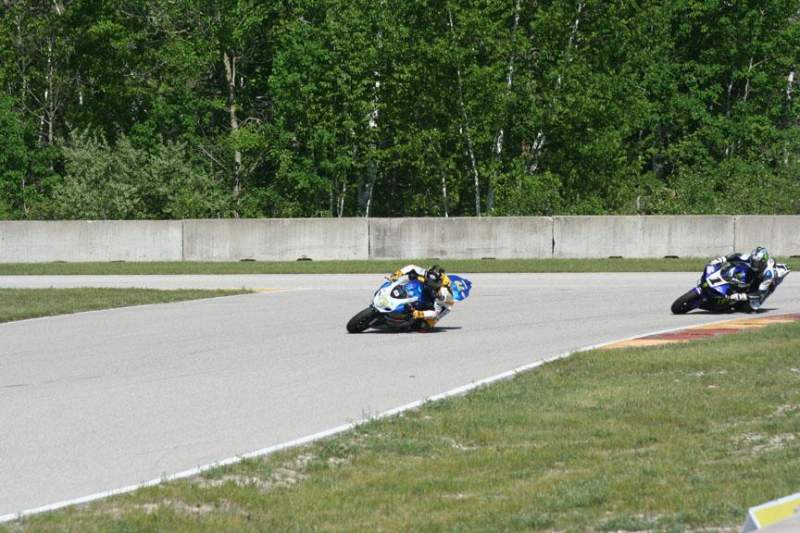 Seating view for Road America Section Turn 11