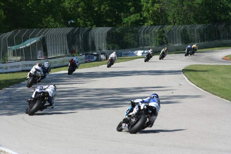 Seating view for Road America Section Turn 11a