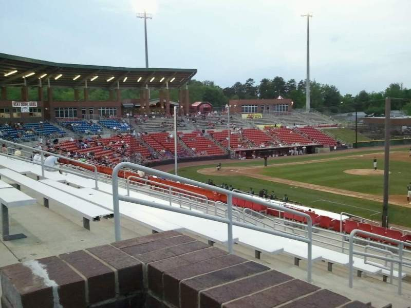 Seating view for L.P. Frans Stadium Section Cafe
