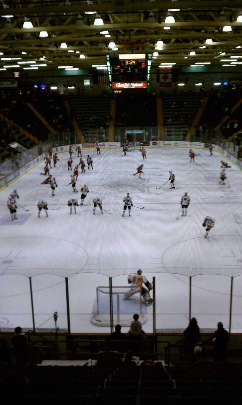 Seating view for Glens Falls Civic Center