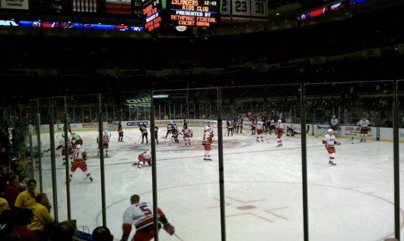 Seating view for Old Nassau Veterans Memorial Coliseum