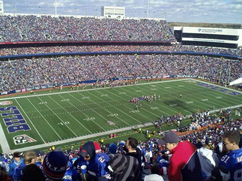 Seating view for Buffalo Bills Stadium Section 338