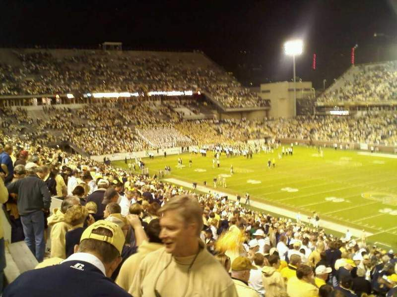 Seating view for Bobby Dodd Stadium Section 104