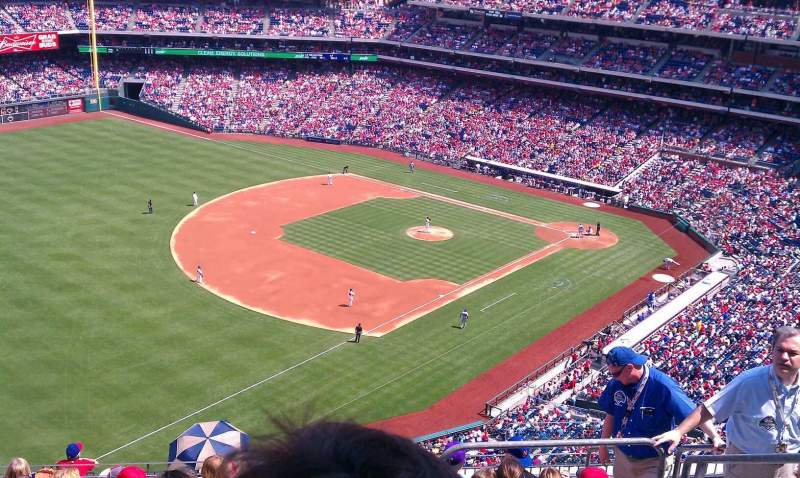 Seating view for Citizens Bank Park Section 432 Row 10  Seat 5