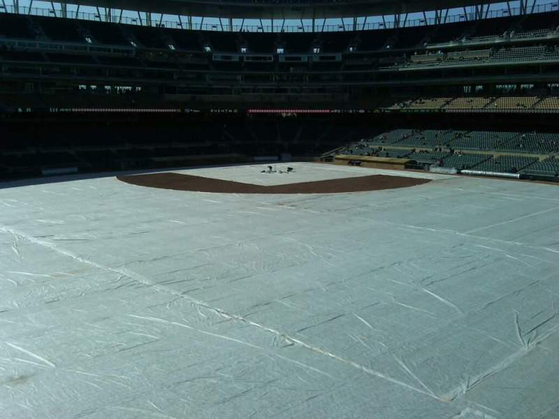 Seating view for Target Field Section Center Field