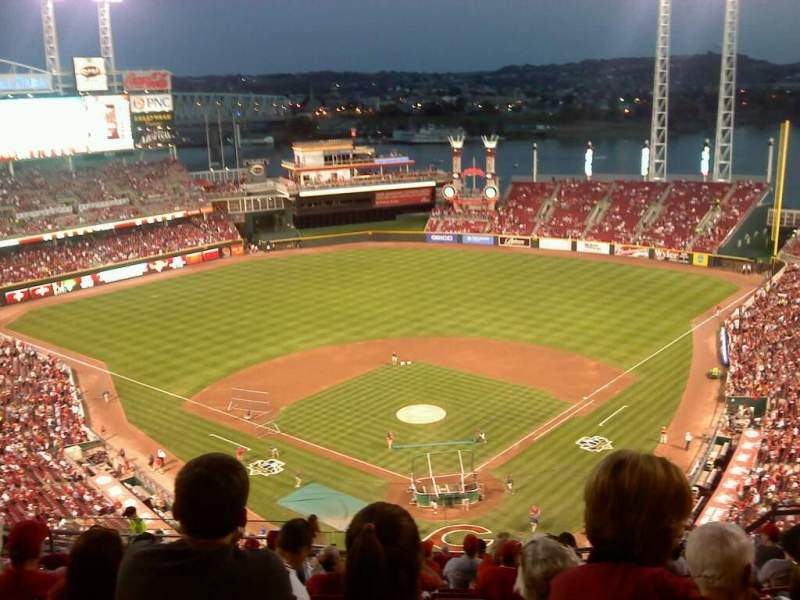 Seating view for Great American Ball Park Section 522 Row N
