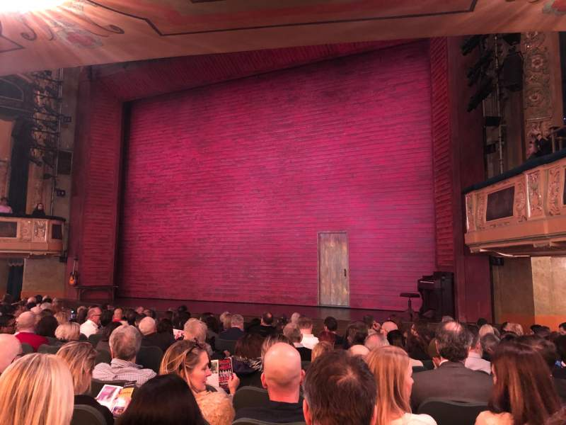 Seating view for Shubert Theatre Section Orchestra R Row O Seat 12